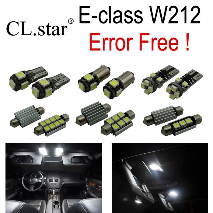 25pcs Error free LED Bulb Interior Light Kit For Mercedes For Mercedes-Benz E class W212 E250 E320 E350 E400 E550 E63 AMG 09-15 auto fuel filter 163 477 0201 163 477 0701 for mercedes benz
