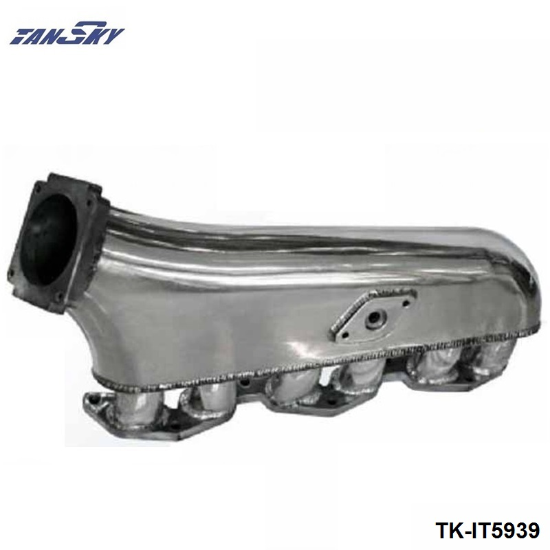Engine Swap Turbo Intake Manifold For TOYOTA 1JZ High Performance Polished TK-IT5939 цены