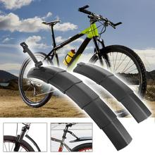1 Pair Bike Fenders Quick Release Folding Bicycle Fenders Mud Guards Mountain/Road Bike Front+ Rear Mudguard Set Bike Parts