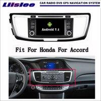 Liislee Android 7 1 2G RAM For Honda For Accord 2012 2016 Car Radio Audio Video