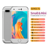 SOYES 7S 2G Smartphone 2.54 inch MTK6580 Quad Core 1.3GHz 1GB RAM 8GB ROM Android 6.0 Dual Cameras Super Mini Mobile CellPhone