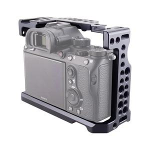 Image 4 - Magicrig Camera Kooi Met Standaard Koude Schoen Voor Sony A7RIII/A7RII/A7MII/A7SII/A7III/A7II camera Om Quick Release Extension Kit