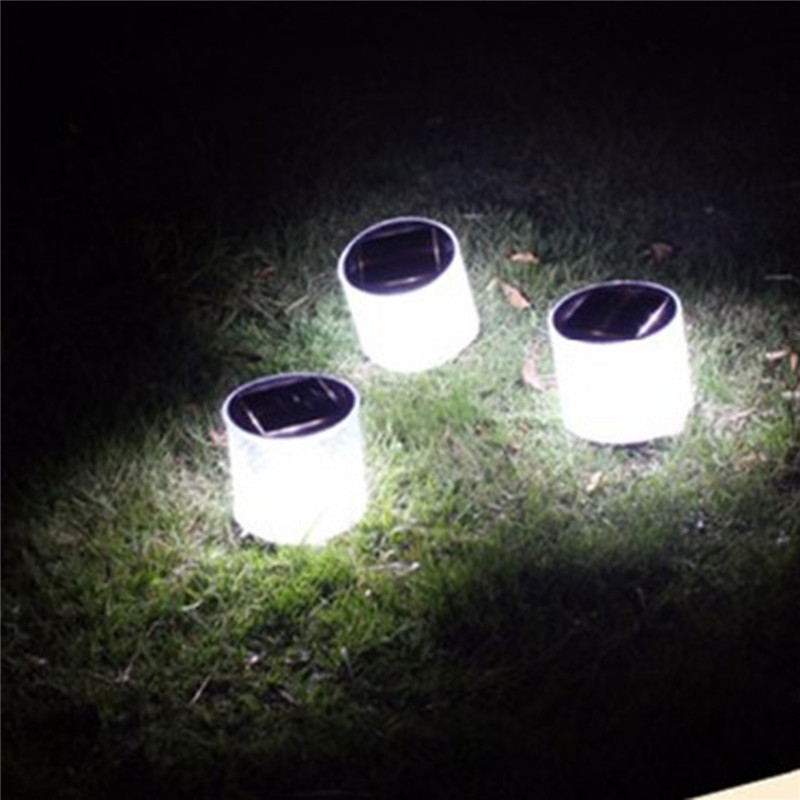 2018 Portable Solar lamp 10LED Solar Powered Foldable Inflatable Solar light IP65 Waterproof Garden Yard Led Solar Light Outdoor ...