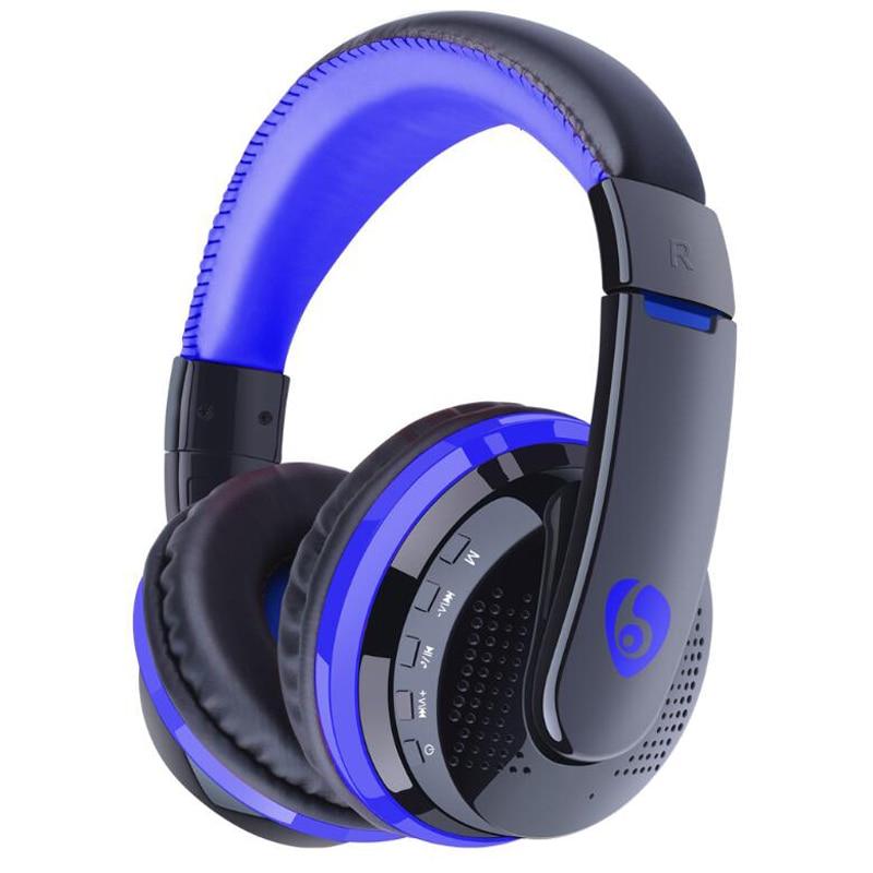 NVAHVA Bluetooth Casque MP3 Lecteur, 3.5mm AUX Câble FM Carte MP3 Casque, sans fil Bluetooth Écouteur Pour Le Téléphone PC TV Pod Jeu