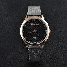 Mens Relógios Top Marca de Luxo Ultrafinos Homens Relógio de Prata Preto Cavalheiro Relógio de Pulso relogio masculino saat montre homme
