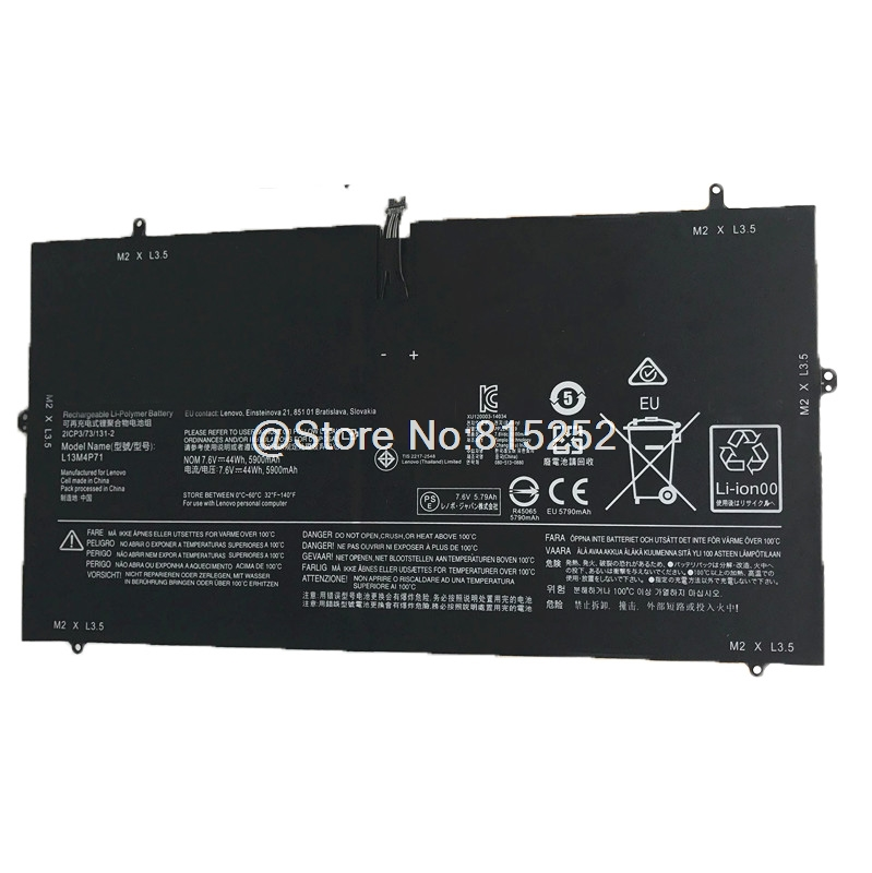где купить Laptop Battery For LENOVO Yoga 3 pro 13 L13M4P71 7.6V 5900mAh New Original дешево