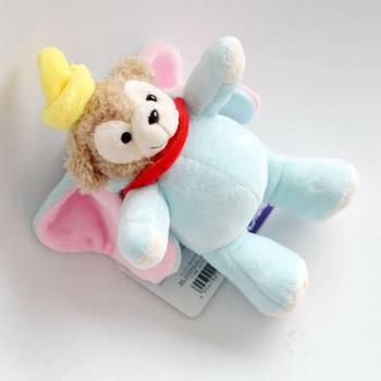 Japan Anime Duffy Turned To Dumbo Plush Toy Doll Cute Elephant Soft Stuffed Animal Pendant For Girls Kids Children Birthday Gift stuffed toy