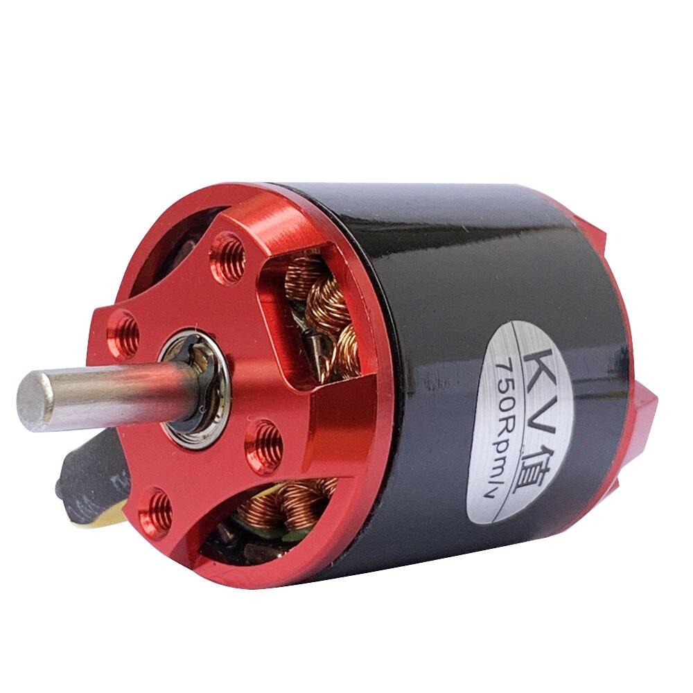 1pc 2836 Swiss Motor Brushless Outrunner Motor Strong Power Supply C750KV High Torque High Power High Speed Brushless Motor