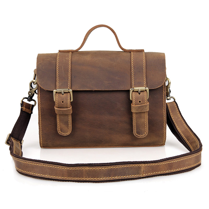 J. м. d 100% натуральная Crazy Horse кожа сумка крест Средства ухода за кожей Винтаж женские Модные IPad сумки c004r