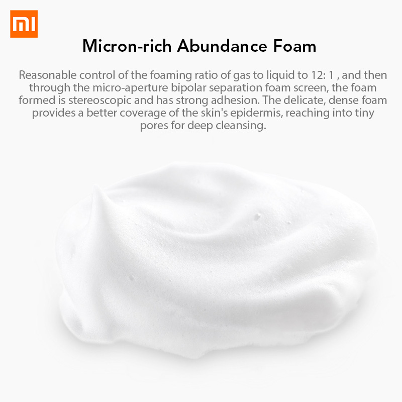 Xiaomi Mijia Foaming Hand Washer Automatic Touchless Soap Dispenser Set Smart Soap Dispenser 0.25s Infrared Auto Induction
