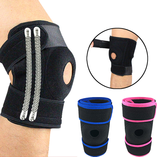 23955dde53 Aolikes 1Pcs Support Sports Knee Pads Football Basketball Volleyball Leg  Knee Support Brace Patella Guard Protector