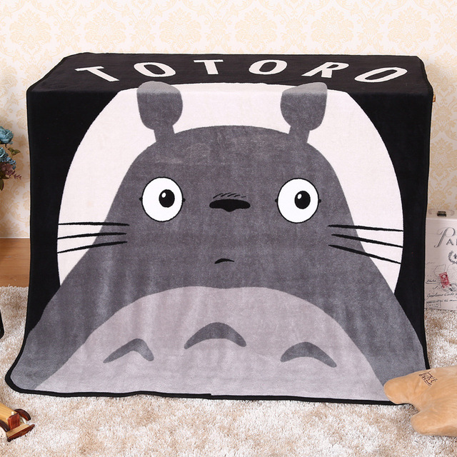Studio Ghibli My Neighbor Totoro – Black and White Stylish Soft Blanket