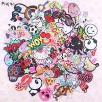 30 pièces aléatoire mixte Anime Patch ensemble fer coudre sur patchs dessin animé mignon brodé appliques patchs pour vêtements Patch autocollants