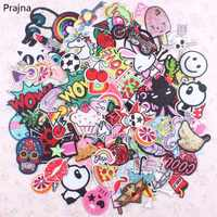 30Pcs Random Mixed Anime Patch Set Iron Sew On Patches Cartoon Cute Embroidered Applique Patches For Clothes Patch Stickers