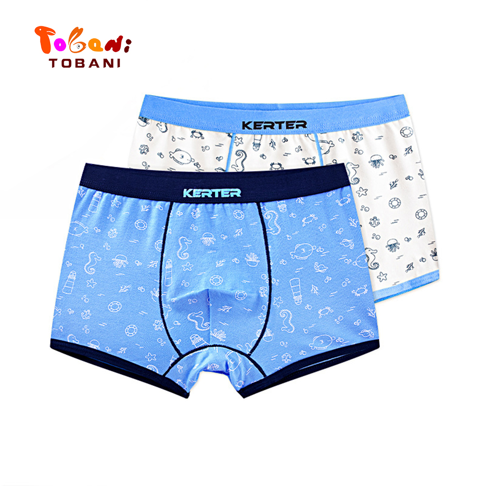 boys panties children underwear  triangle pure cotton boys underpants angle boys underpants baby shorts Tobani 2pcs 3