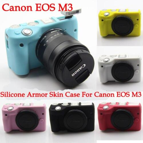 10 pièces Silicone armure coque peau caméra housse de protection sac pour Canon M3 système sans miroir caméra