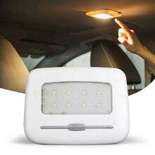 USB Перезаряжаемые свет для Авто Датчик света ночника крыше автомобиля освещение внутреннего освещения автомобильные аксессуары