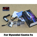 For Hyundai Santa Fe SUV 2010 2011 2012 / Warning Lamp Alarm Laser Fog Lights / Rear Anti-Collision Taillight Auto Accessories