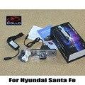 Para Hyundai Santa Fe SUV 2010 2011 2012/Aviso lâmpada de Alarme A Laser Luzes de Nevoeiro/Anti-Colisão Traseira Lanterna Traseira Auto acessórios