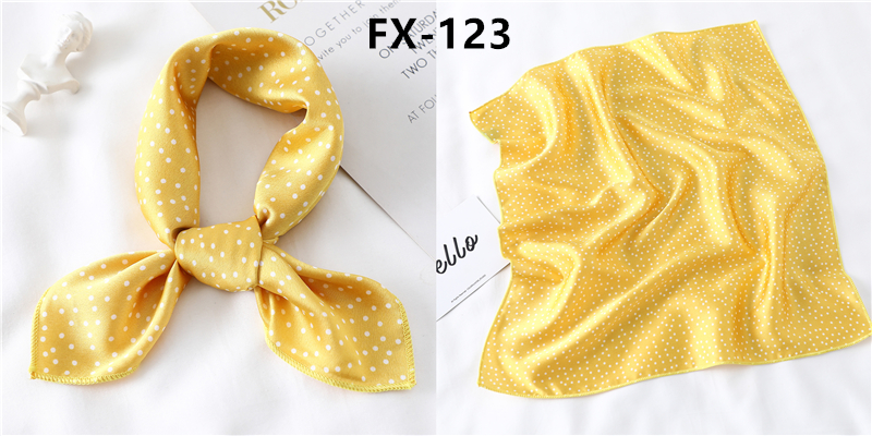 HTB1dRJKbYys3KVjSZFnq6xFzpXaK - Square Scarf Women Hair Tie Band for Party Elegant Small Vintage Skinny Retro Head Neck Silk Satin scarves handkerchief foulard