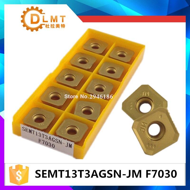تیغه اصلی insemrt SEMT13T3AGSN-JM F7030 CNC بسته بندی - ماشین ابزار و لوازم جانبی