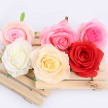20pcs Simulation Rose Flower Artificial Wedding Road Lead Handmade Crafts Accessories