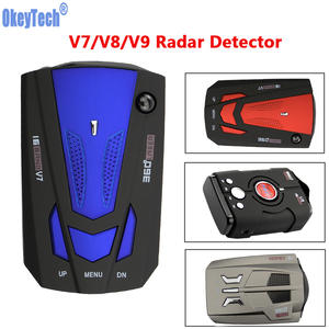 OkeyTech 360 Degrees LED Display Alert Warning Anti Radar Detectors Russia/English