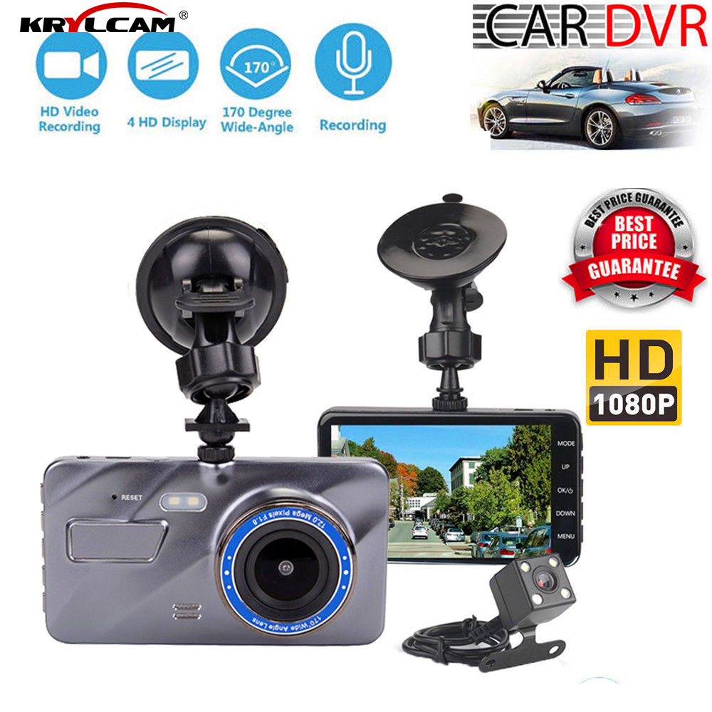 Helpful Krylcam R310 Dual Lens Dash Cam In Car Camera Video Recorder Car Dvr G-sensor Gps Logger 2.7 Inch Screen Vehicle Car Blcack Back To Search Resultsautomobiles & Motorcycles