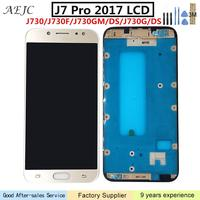 Can Adjust Brightness For Samsung J730 J7 Pro 2017 LCD Display Touch Screen Digitizer Assembly For SAMSUNG J730 LCD with Frame