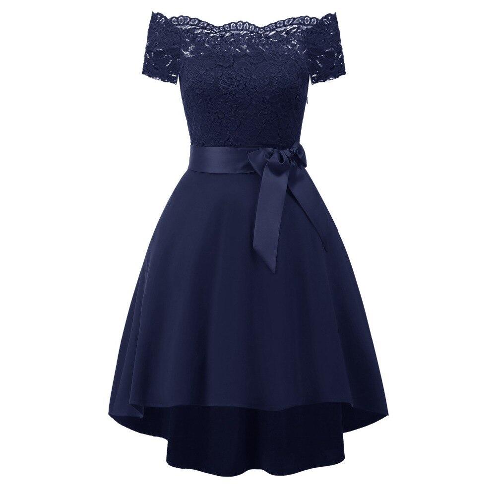 Vintage Dresses 2018 Summer Dress Women Robe Vintage Off Shoulder Vintage Rockabilly Dress Jurken 60s 50s Retro elegant  Dress
