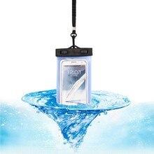 Outdoor Folder Waterproof Bag Mobile Phone Bag Portable Swimming Waterproof Bag Rafting Water Sports Essential