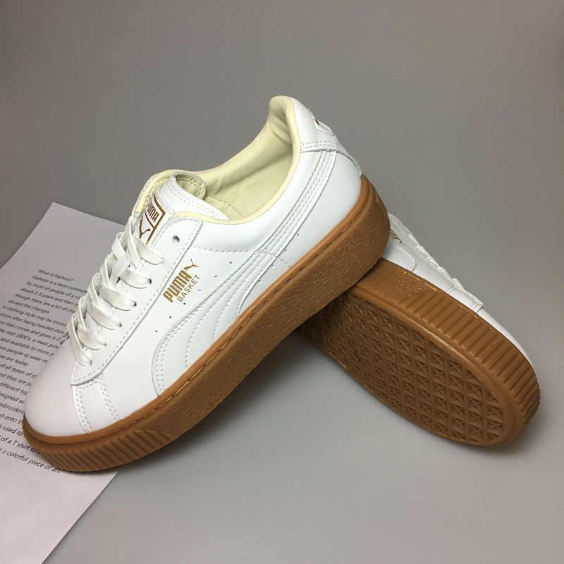 ebd5ea65270 ... Basket Suede Tone Simple Badminton. RELATED PRODUCTS. 2018 New Arrival PUMA  Fenty by Rihanna Cleated Creeper Suede Sneakers Women s Badminton shoes