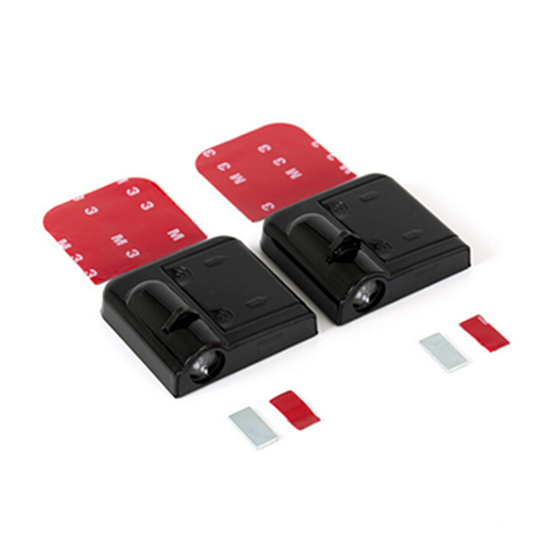 2Pcs Wireless Car <font><b>LED</b></font> Door Warning Light For <font><b>Peugeot</b></font> 107 207 108 <font><b>208</b></font> 308 408 508 2008 3008 5008 Laser Projector Ghost Shadow image