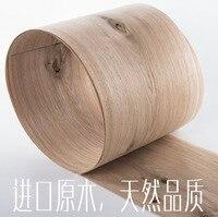 Length 2 5Meters Thickness 0 52mm Width 16cm Natural Knots White Oak Wood Veneer