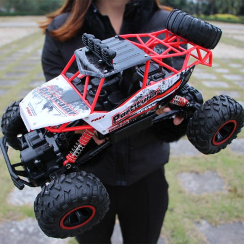 RC Auto 1/12 4WD Rock Crawler 4x4 di Guida Auto Motori A Doppia Drive Bigfoot Auto Telecomando Modello di Auto off-Road Del Veicolo Giocattolo