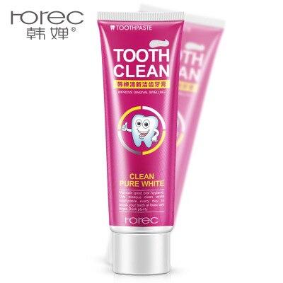 Offen Zahn Pflege Rote Erdbeere Natürlichen Aktiviert Holzkohle Zähne Bleaching Zahnpasta Mundhygiene Dental