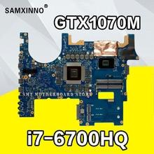 Рог G752VS материнская плата для ноутбука ASUS G752VS G752V G752 тестирует Оригинал материнская плата I7-6700HQ GTX1070-8G