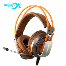 XIBERIA V10 Gaming Headset Headphone Stereo Surrounded With Microphone Headset For PC Desktop Computer Shock Luminescence NEW(China (Mainland))
