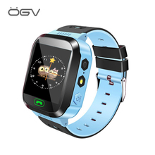 цена на OGV Q528 Smart watch Children Kid Wristwatch SOS GSM Locator Tracker Anti-Lost Safe Smartwatch Child Guard for iOS Android