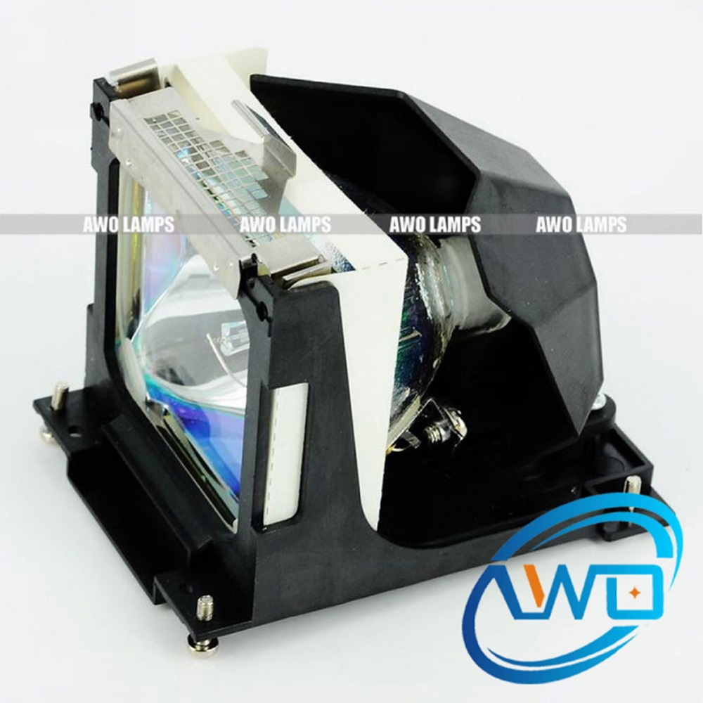 AWO Wholesales LV-LP16 Projector Compatible Module for CANON LV-5200 Projectors 180 Day Warranty compatible projector lamp for canon lv lp19 9269a001aa lv 5210 lv 5220 lv 5220e