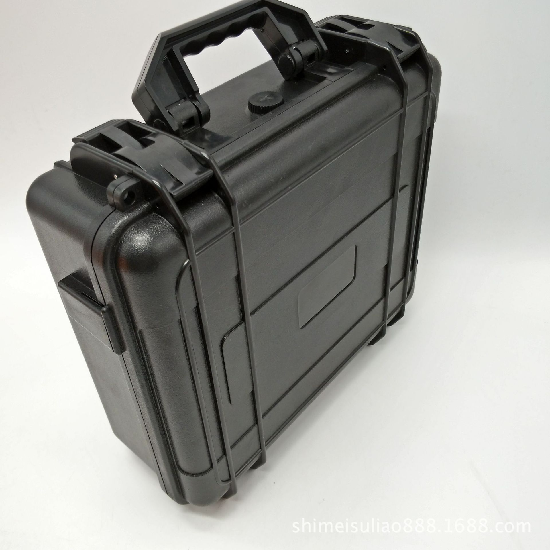 Free shipping safety hard plastic tool case tool box for laser equipment