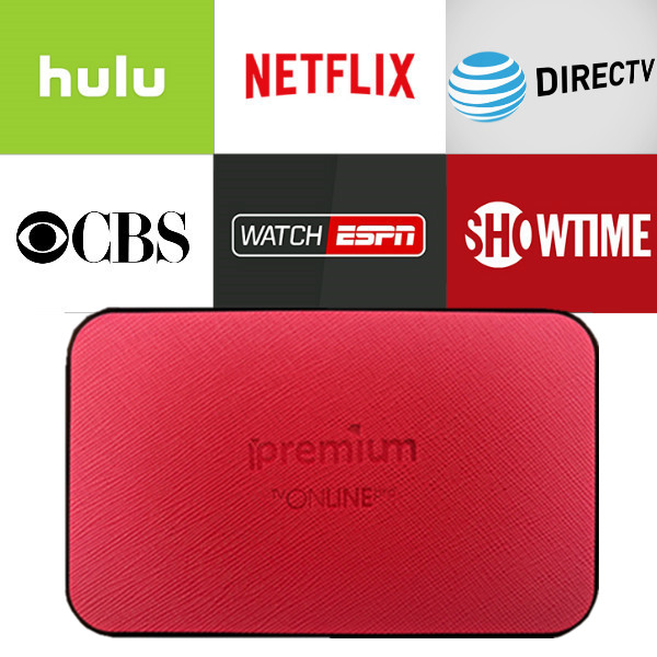US $99 0 |TVONLINE Android box with 1 year Netflix/HULU/Directv/CBS account  warranty work in Set top box Smarttv smartPhone -in Set-top Boxes from