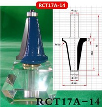 Industry Quality Carbide Wood Working Line Shape Molding Router Cutter Bits V Groove ( RCT17A-14