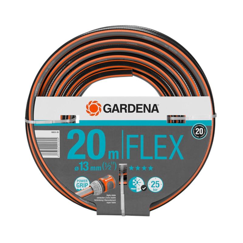 Garden Hose GARDENA Flex (18033-20) 12mm od x 8mm id black color 5m 16 4ft pu air tube pipe hose pneumatic hose