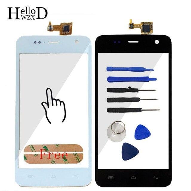 4.7 Tela de Toque Móvel Touchgalss Para Explay Vega Sensores Frente Outer Vidro Toque Digitador Da Tela Ferramentas de Reparo Adesivo