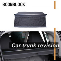 Auto Car Rear Trunk Cargo Shelf For Smart Fortwo 2018 2017 2015 2010 Rear Tail Racks Retractable Curtain Spacer Accessories