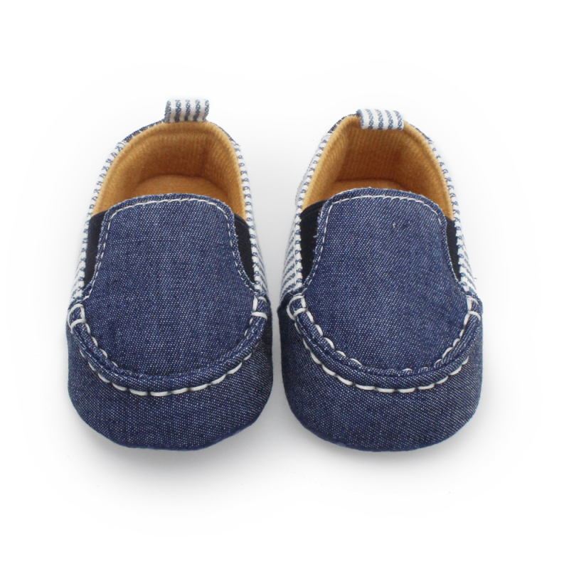 New Born Baby Boy Girl Shoes Summer Casual Autumn Denim Striped Shoes Toddlers Boys Girls First Walkers Infant Baby Shoes 0-12M