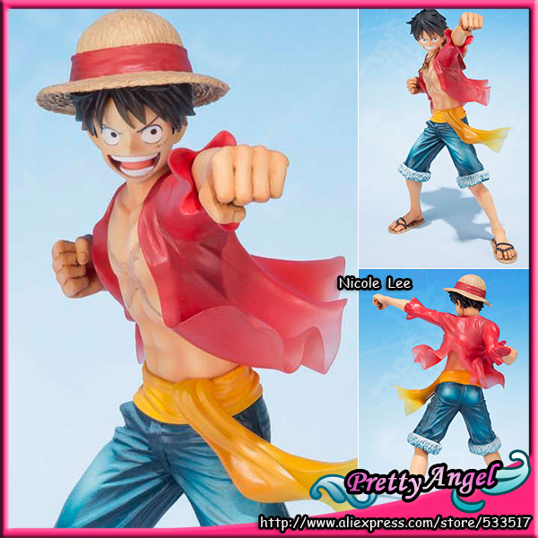 Original Bandai Tamashii Nations Figuarts ZERO One Piece Monkey D. Luffy -5th Anniversary Edition- Action Figure bandai f zero one piece bandai set 2 years after the ice fire fist 5 anniversary edition piece