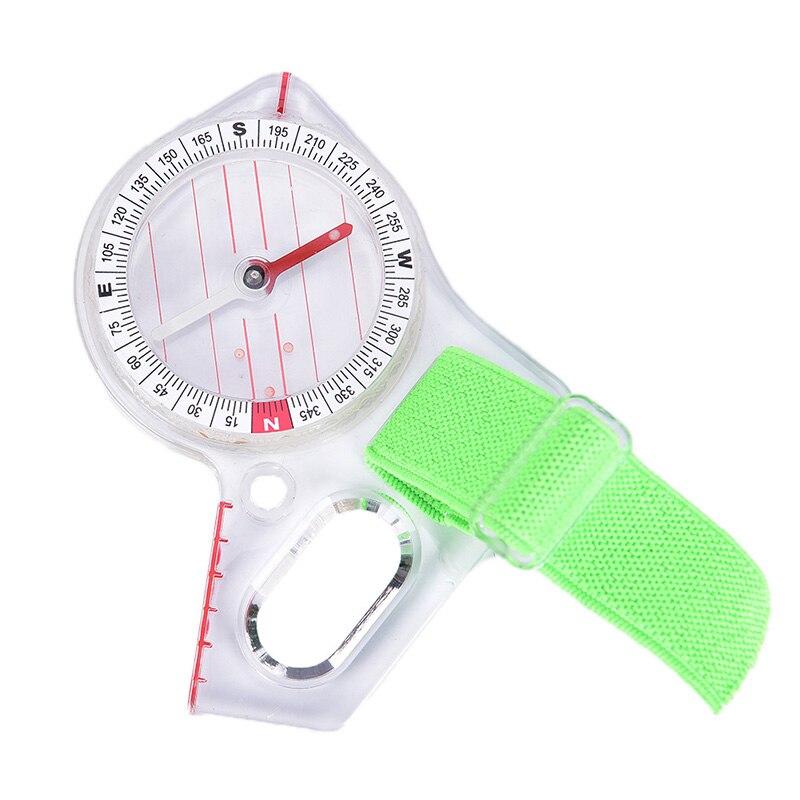 Открытый профессиональный компас с использованием большого пальца элитного соревнования ориентирующий компас Портативный Компас Карта К...