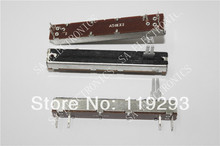 [ bella ]Taiwan produced 8.8 cm Slide Potentiometers A50Kx2 20 large split shaft–10pcs/lot